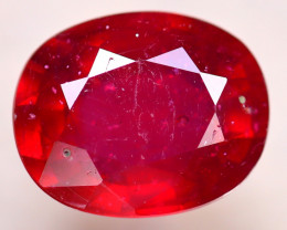 Ruby 3.77Ct Madagascar Blood Red Ruby D0804/A20