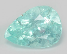 *No Reserve* Paraiba Tourmaline 0.50 Cts Natural Blue Color Copper Bearing