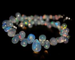 30 Crts Natural Ethiopian Welo Opal Teardrops 82
