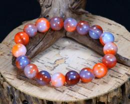 130.90Ct Natural Botswana Agate Beads Bracelet AB5082