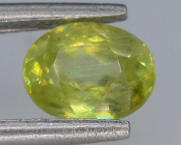 Top Fire 0.90 ct Natural Sphene