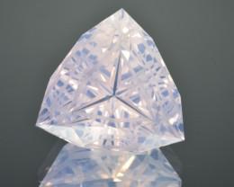 Natural Lavender Quartz 20.08 Cts Precision Cut Gemstone