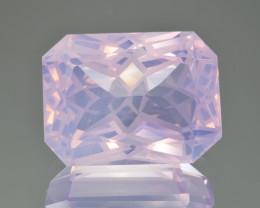 Natural Lavender Quartz 34.77 Cts Precision Cut Gemstone