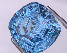 15.04 Cts Fine Quality Master Cut Natural Blue Topaz