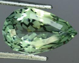 ~CUSTOM CUT~ 7.43 Cts Natural Prasiolite / Amethyst Fancy Cut Brazil