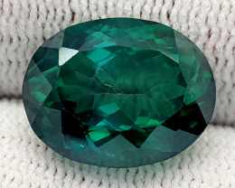 9.93CT GREEN TOPAZ COATED BEST QUALITY GEMSTONE IIGC58