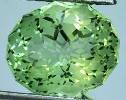 ~CUSTOM CUT~8.46 Cts Natural Prasiolite / Amethyst Fancy Cut Brazil