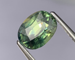 2.09 Cts Amazing Quality Blue Green Natural Sapphire Fine Luster
