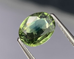 1.51 Cts Top Grade Blue Green Natural Sapphire Fine Luster