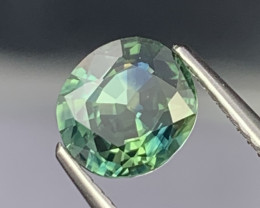 1.63 Cts AAA Grade Greenish Blue Natural Sapphire Excellent Luster