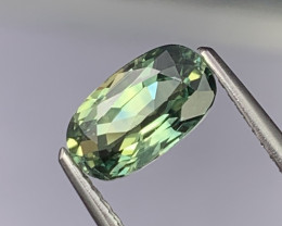 1.50 Cts Lustrous Top Grade Blue Green Natural Parti Sapphire