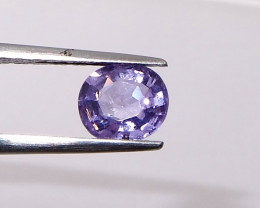 1.25ct unheated purple sapphire