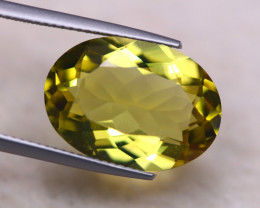 10.39ct Natural Lemon Quartz Oval Cut Lot GW8037