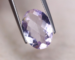 4.27ct Natural Light Purple Amethyst Oval Cut Lot GW8038