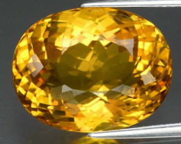 10.00 ct Natural Earth Mined Yellow Beryl, Madagascar