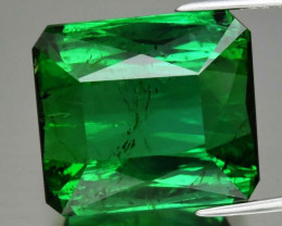 Huge Rare! 23.34 ct Natural Earth Mined  Unheated Green Tourmaline