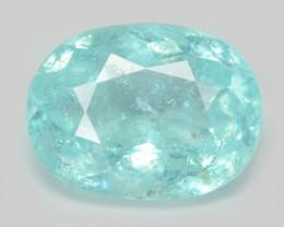 0.76 Cts Copper Bearing Natural Blue Paraiba Tourmaline