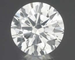 0.17 Cts Untreated Fancy White Color Natural Loose Diamond