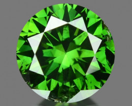 0.35 Cts Sparkling Rare Fancy Green Color Natural Loose Diamond