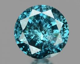 0.09 Cts Sparkling Rare Fancy Blue Color Natural Loose Diamond