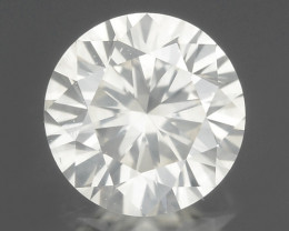 Diamond 0.27 Cts Untreated Fancy White Color Natural Loose