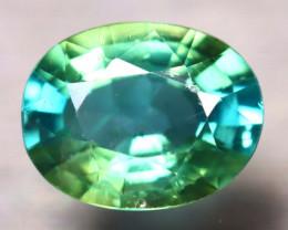 Apatite 1.94Ct Natural Paraiba Green Color Apatite D1002/B44