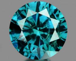 0.16 Cts Sparkling Rare Fancy Blue Color Natural Loose Diamond