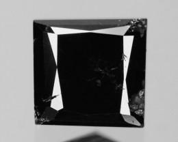 0.90 Cts Rare Fancy Black Color Natural Loose Diamonds
