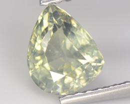 Sapphire 1.27 Cts Green Step cut BGC944