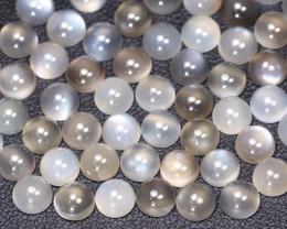 Moonstone 32.41Ct Natural Play of Gray Color Moonstone Lot B5129