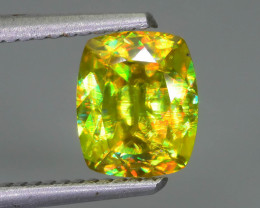 Rare AAA Fire 1.58 ct Sphene Sku-63