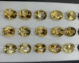 48.31 ct Citrine Gemstones parcel