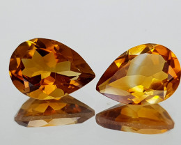 3.12Crt Madeira Citrine Natural Gemstones JI34