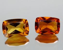 2.21Crt Madeira Citrine Natural Gemstones JI34