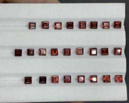 11.03 ct Rhodolite Garnet Gemstone parcel