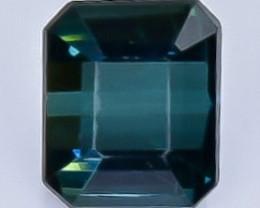 1.29 Crt  Tourmaline Faceted Gemstone (Rk-27)