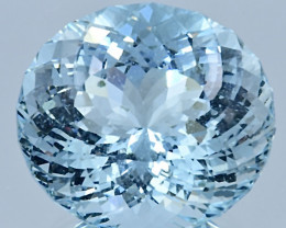 38.88 ct Blue Aquamarine with fine cutting Gemstone