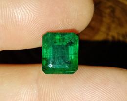 6.22cts High Quality  Zambian Emerald , 100% Natural Gemstone