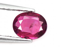 0.46 Cts Unheated Pinkish Red Natural Ruby Loose Gemstone