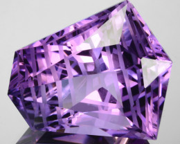 ~CUSTOM CUT~ 47.40 Cts Huge Natural Purple Amethyst Fancy Bolivia