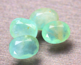 Paraiba Opal 5.00Ct 4Pcs Natural Peruvian Paraiba Color Opal EF1112/A2