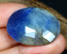 Unheated 39.08Ct Natural Untreated Blue Sapphire B2410