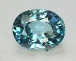3.80 Ct Gorgeous Color Natural Vibrant Blue Zircon