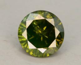 Green Diamond 0.60 ct Top Grade Brilliance SKU-25 tz