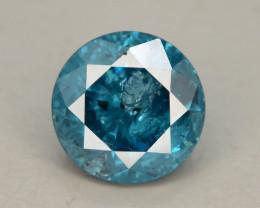 Blue Diamond 0.55 ct Top Grade Brilliance SKU-25 tz