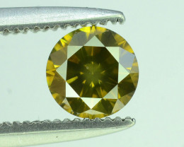 Top Quality 0.45 ct Yellow Diamond