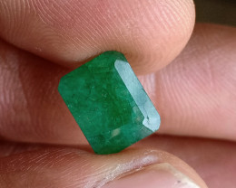 Natural Emerald Genuine Gemstone VA1978