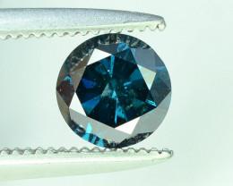 Top Quality 0.60 ct Blue Diamond