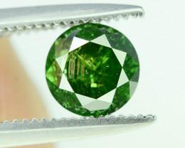 Top Quality 0.60 ct Green Diamond
