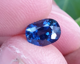 UNHEATED CERTIFIED 1.32 CTS NATURAL BEAUTIFUL ROYAL BLUE SAPPHIRE MADAGASCA